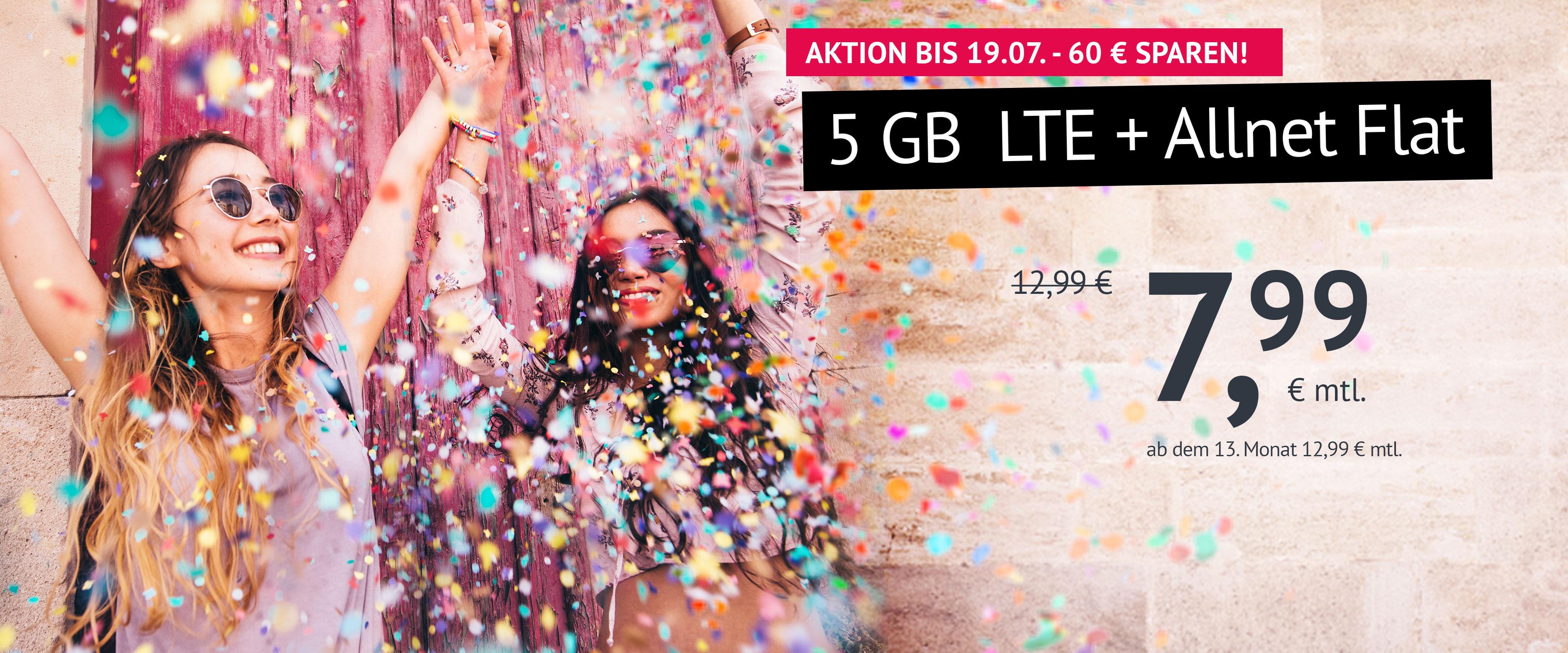 Aktion 5 GB LTE
